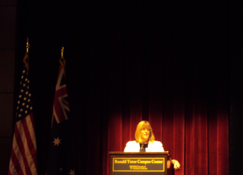 Karen Lanyon, Australian Consul-General, Los Angeles